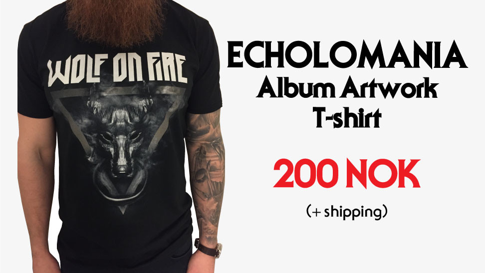 T-shirt - Echolomania Artwork